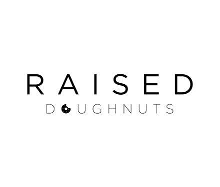 Raised Donuts Logo