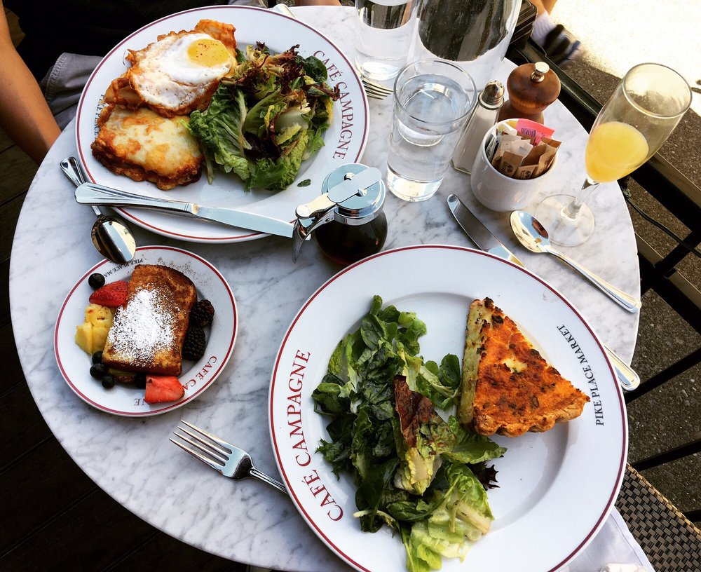 Cafe Campagne for Seattle Restaurant Week