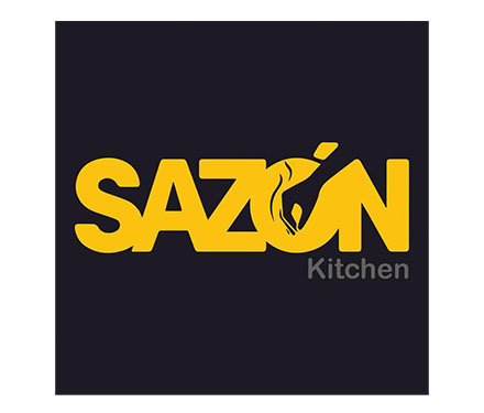 Sazon Kitchen logo.
