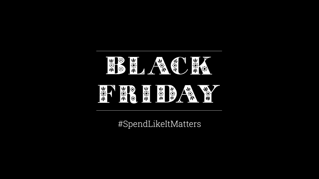 Shop Black Owned this Black Friday #SpendLikeItMatters