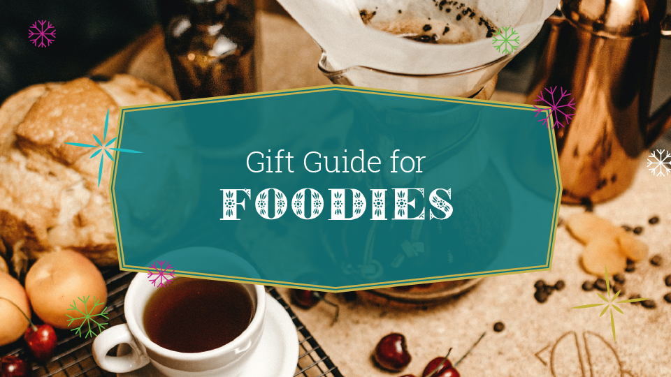 intentionalist gift guide for foodies