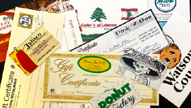 Gift Certificates for Small Businesses