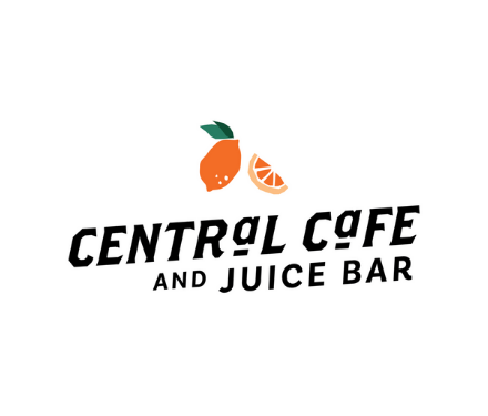 Central Cafe and Juice Bar logo