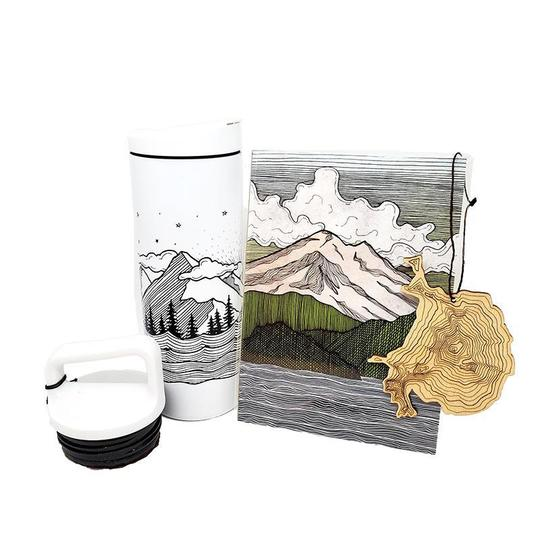 gift bundle, mountain explorer, the handmade showroom