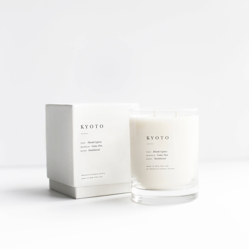 kyoto escapist candle, retail therapy, last minute gift guide