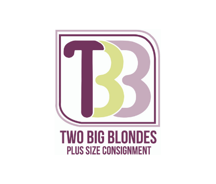Two Big Blondes Plus Size Consignment logo