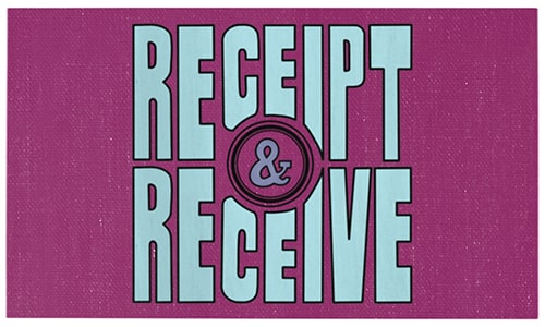 Receipt and Receive Welcome Back Seattle Weeks