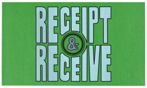 Receipt & Receive - Welcome Back Seattle Week