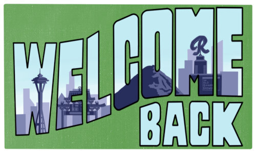 Welcome Back Seattle Logo